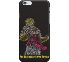 Broly - The Legendary Super Saiyan iPhone Case/Skin