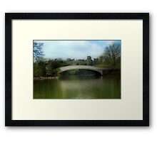 Dream = Romantic Afternoon Framed Print
