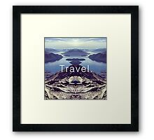 Travel. Lake Wanaka Framed Print