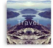 Travel. Lake Wanaka Canvas Print