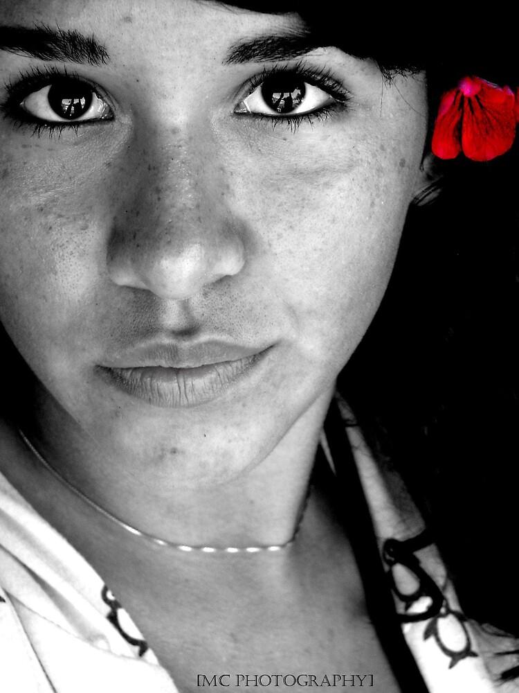 Self portrait by Melissa  Carroll