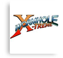 Wormhole X-Treme Canvas Print