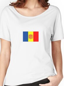 Andorra flag Women's Relaxed Fit T-Shirt