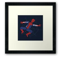 Anatomy of a Spider Framed Print