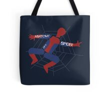 Anatomy of a Spider Tote Bag