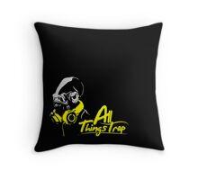 DJ ACKBAR (yellow) Throw Pillow