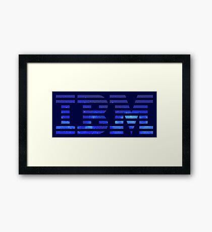 IBM Space Framed Print
