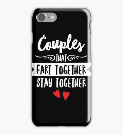 Couples Stay Together iPhone Case/Skin