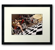 American Chopper Framed Print