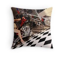 American Chopper Throw Pillow