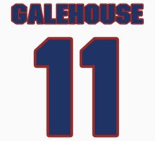 National baseball player Denny Galehouse jersey 11 by imsport