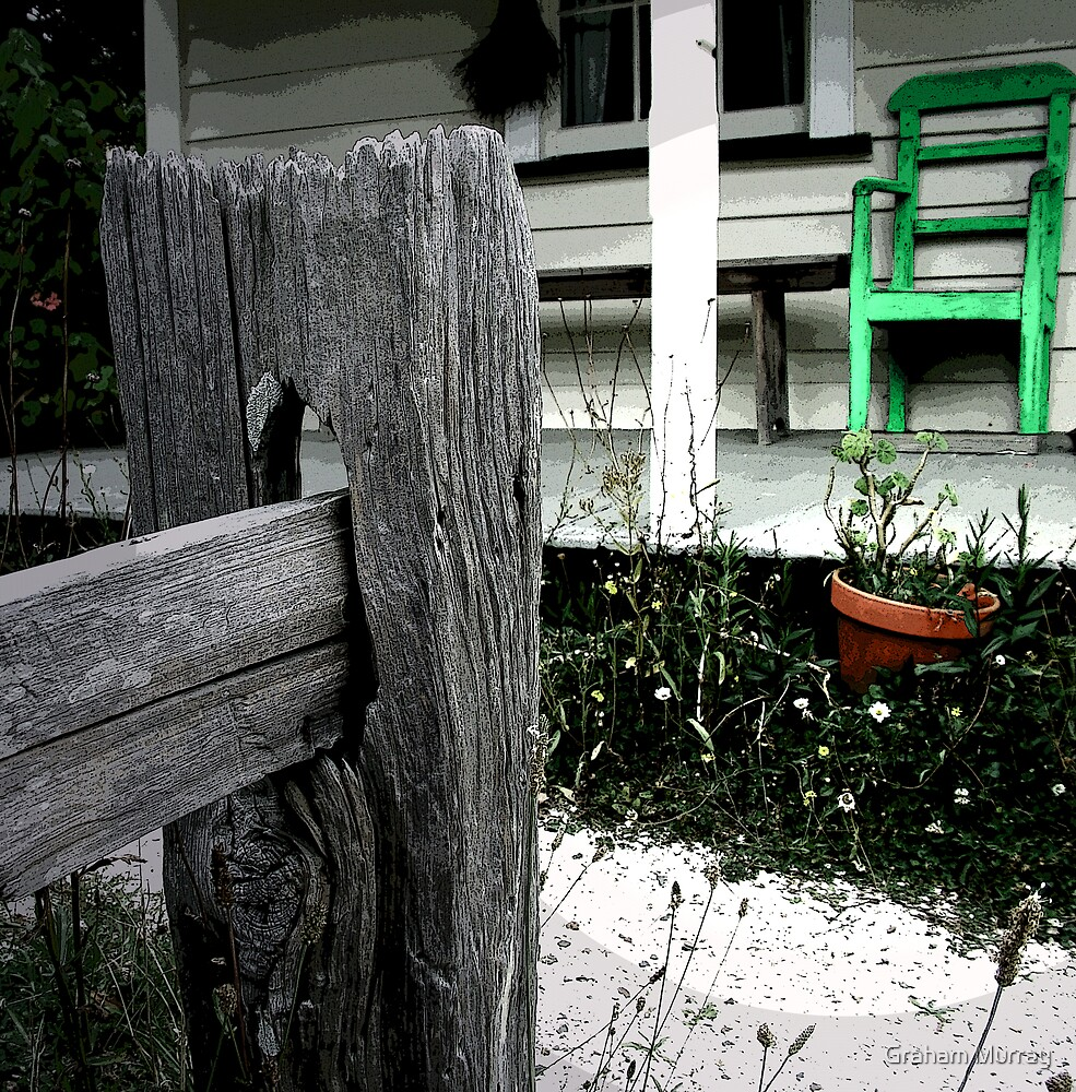 Green chair by Graham Murray