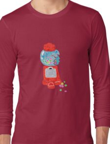 Bubble gum machine.  Long Sleeve T-Shirt