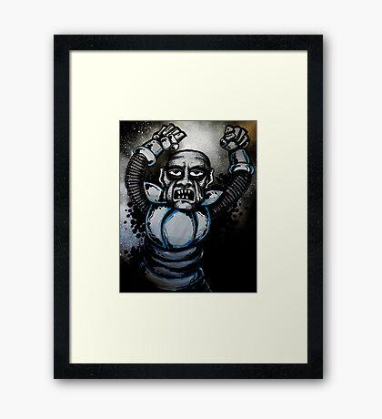 Dr. Zorka's Slave Framed Print