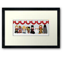 Muppets Tiny Christmas Carol Framed Print