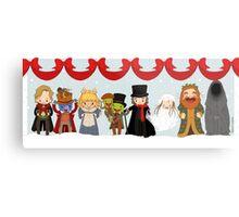 Muppets Tiny Christmas Carol Metal Print