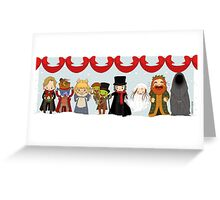 Muppets Tiny Christmas Carol Greeting Card