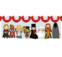 Muppets Tiny Christmas Carol Photographic Print