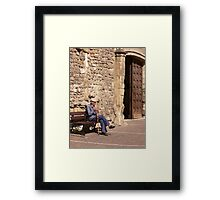 Old French Man Framed Print