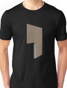 Glitch Homes Wallpaper lightbrown stucco left divide Unisex T-Shirt
