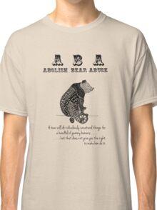 ABA - Circus Bear - Light Background Classic T-Shirt