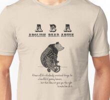 ABA - Circus Bear - Light Background Unisex T-Shirt
