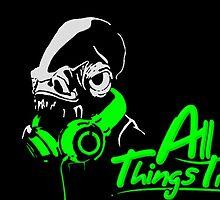 DJ ACKBAR (green) by TheLegitEggo