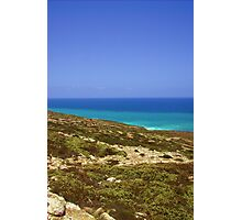 S-Bend In the Nullabor Photographic Print