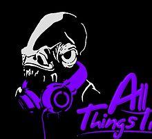 DJ ACKBAR (purple) by TheLegitEggo