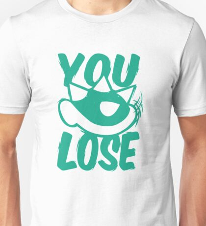 You Lose Green Shell Unisex T-Shirt
