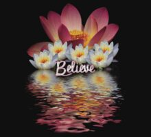 BELEIVE LOTUS PEACE by webgrrl