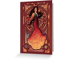 Fire is Catching Greeting Card
