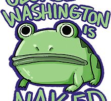 George Washington is Naked by flightofmagpie