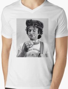 Russian Robin Mens V-Neck T-Shirt