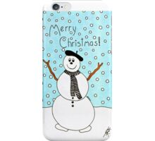 'Arty' the Snowman iPhone Case/Skin
