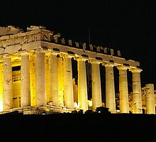 Acropolis at Night by Geoff White
