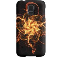 Energetic Geometry - Fire Spinner Bloom  Samsung Galaxy Case/Skin