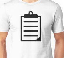 Notepad Unisex T-Shirt
