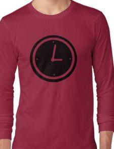 Time clock Long Sleeve T-Shirt