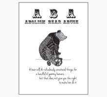 ABA - Circus Bear - Sticker by Sparrow Rose Jones