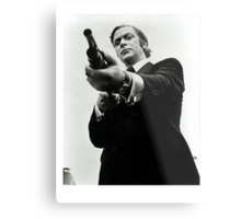 Don't fuck with Mr. Caine. Metal Print