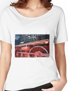 Detail of old vintage locomotive Women's Relaxed Fit T-Shirt