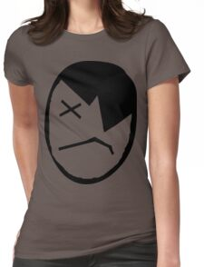 Emo Kid Womens Fitted T-Shirt