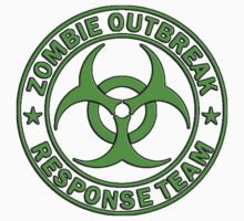 ZOMBIE RESPONSE TEAM round green  by Tony  Bazidlo