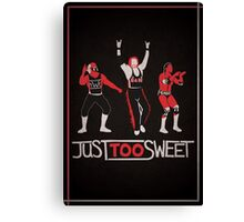 """Just Too Sweet"" Wrestling Design Canvas Print"