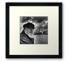 Sea Captain Framed Print