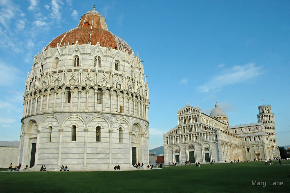 Pisa Group by Mary  Lane