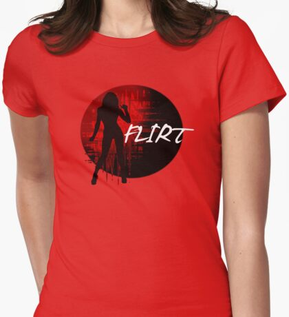 FLIRT Womens Fitted T-Shirt