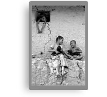 Happy they are Canvas Print