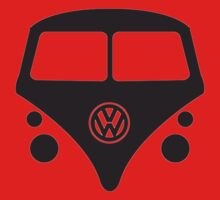 VW BUS  One Piece - Short Sleeve